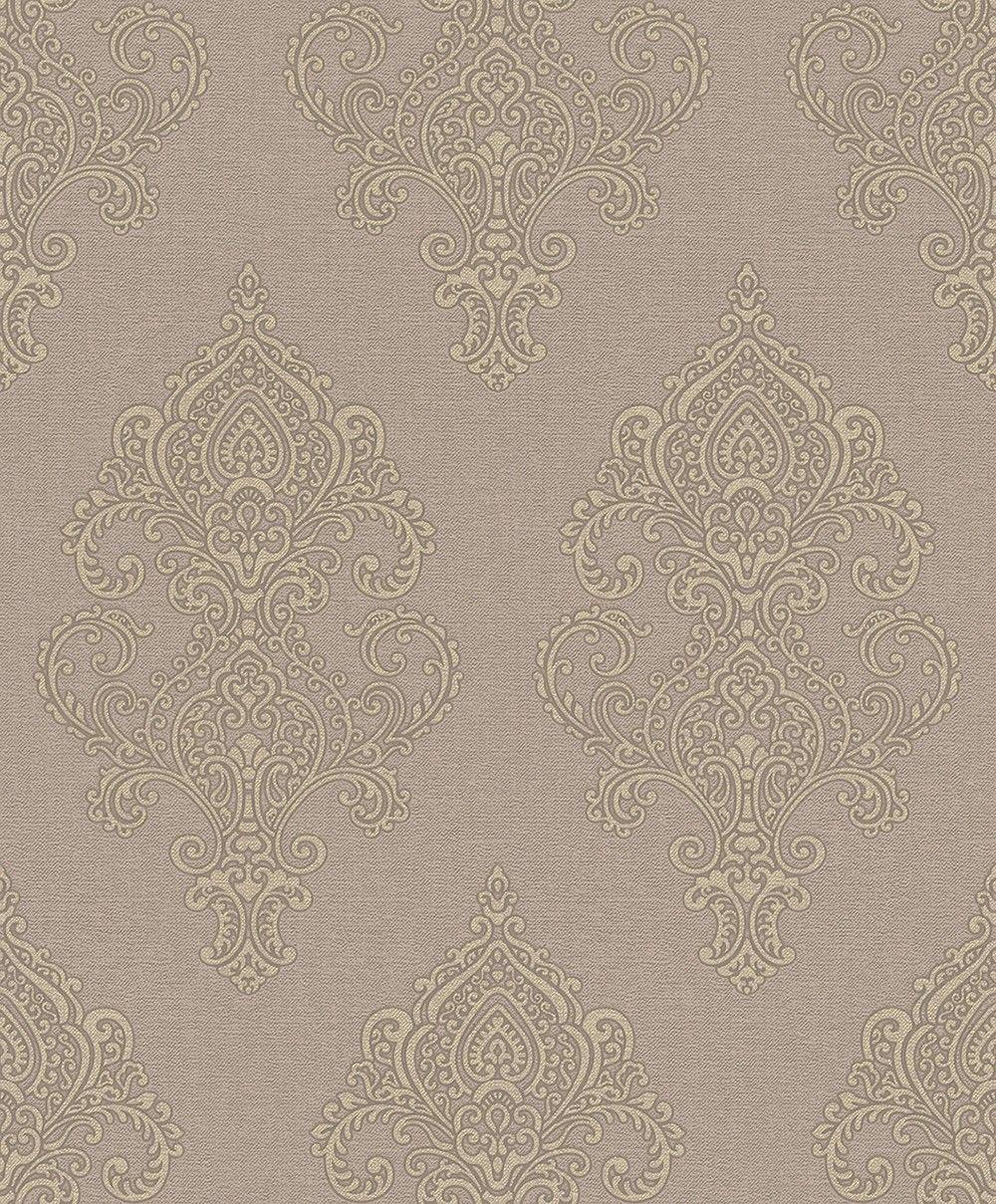 Tapete Carlotta 02 Ornament Tapete Tapeten Rasch Textil