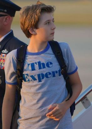 The Expert T Shirt Worn By Barron Trump T Shirts By Upyourtee
