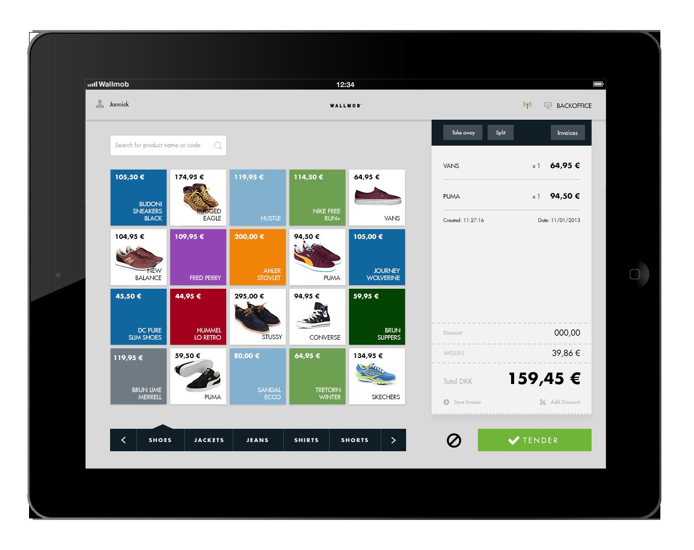 Wallmob - Intelligent sales points | Design | Pos ...