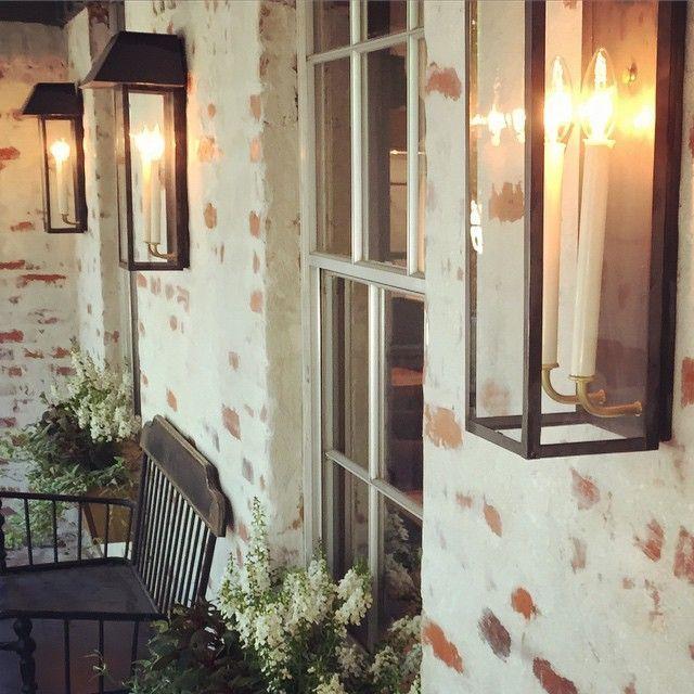 Mortar Wash Brick Fireplace Tutorial Cottage Flip Update