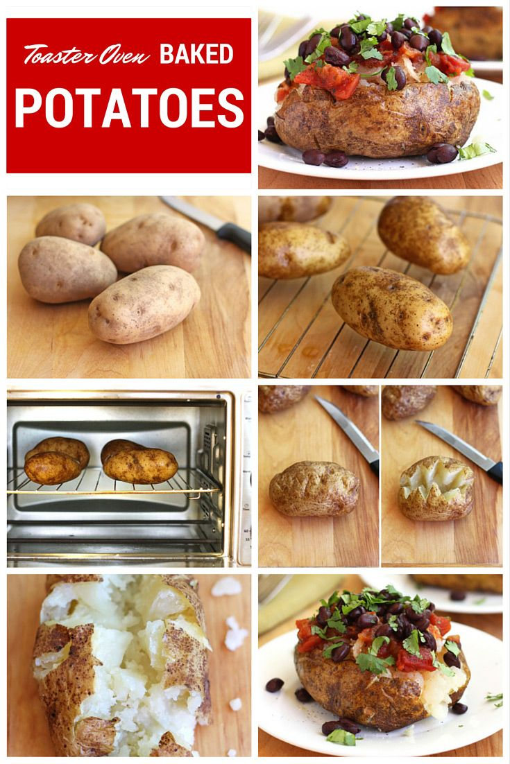 How To: Toaster Oven Baked Potatoes