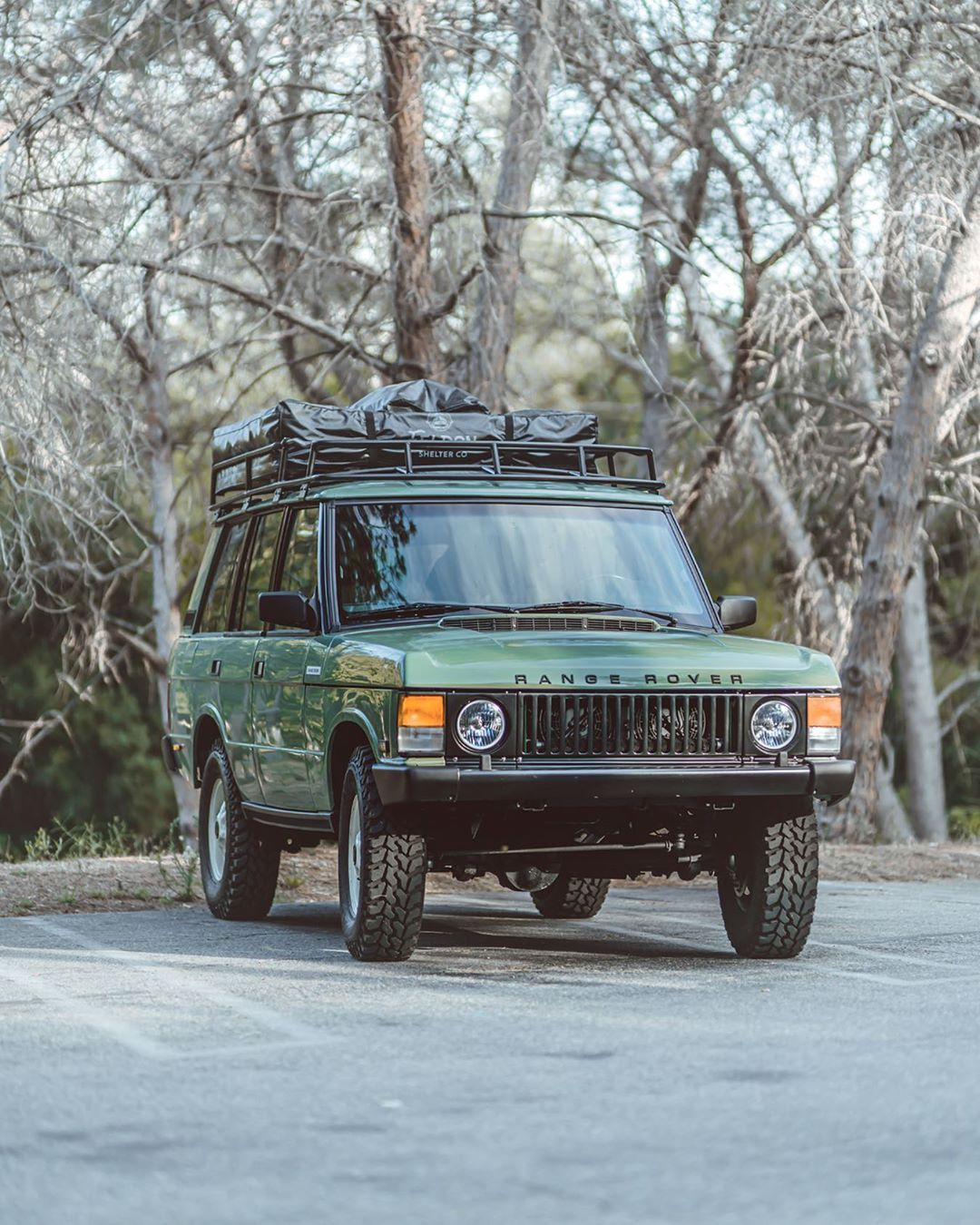 Brooklyn Coachworks On Instagram We Are Commemorating Range Rover S 50th Anniversary With These Special Heritage B Range Rover Classic Range Rover Land Rover