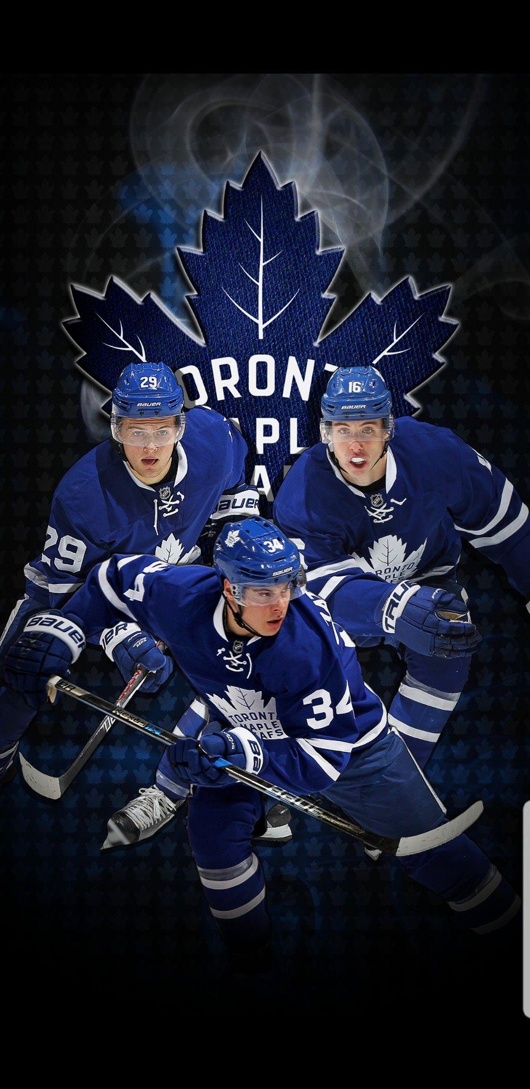 Nylander Marner Matthews Maple Leafs Hockey Toronto Maple Leafs Wallpaper Maple Leafs Wallpaper