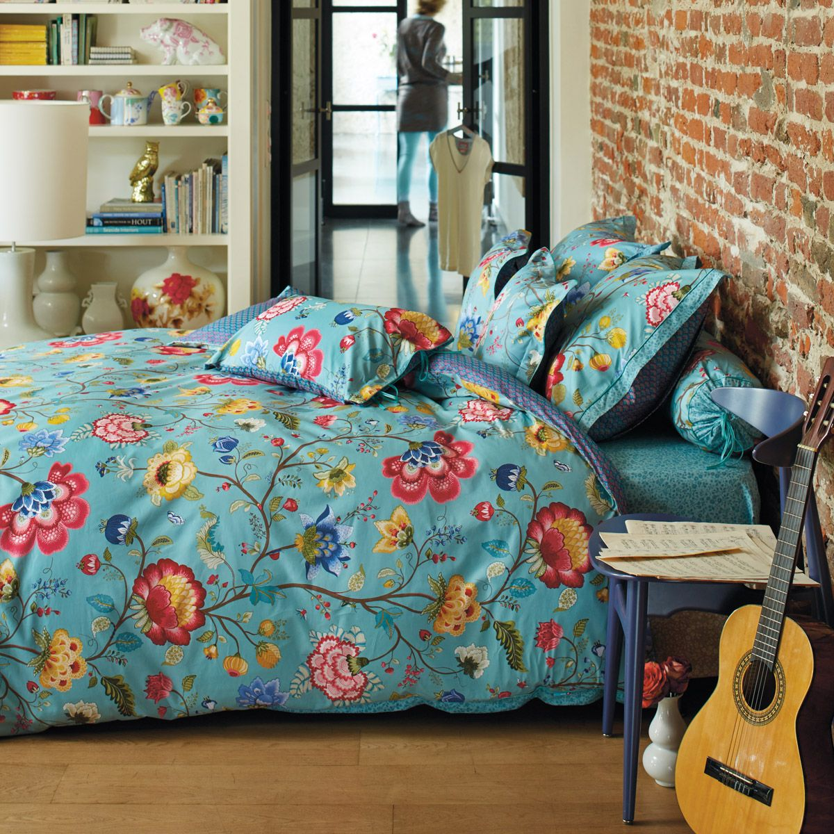 """pip studio bettwäsche """"floral fantasy"""" (blau)   bettwÄsche, Schlafzimmer entwurf"""