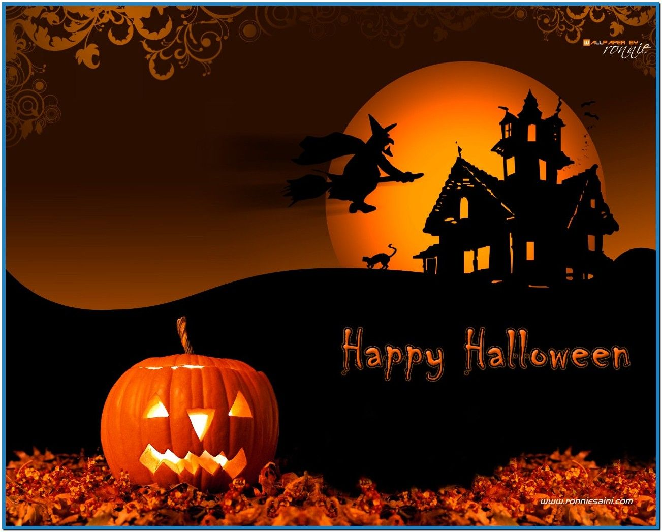 Halloween Screensavers And Wallpapers Download Free Happy Halloween Pictures Halloween Wallpaper Happy Halloween Quotes