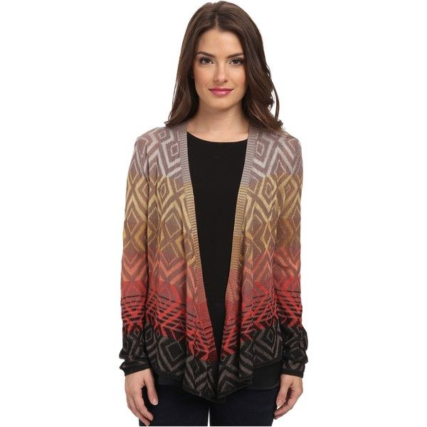 NIC ZOE Petite Coral Pop 4-Way Cardy Women's Sweater, Multi ($96 ...