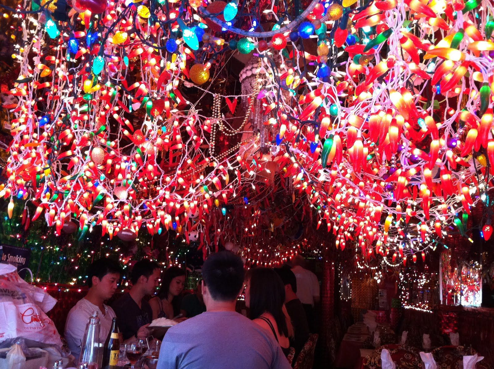 Find Chili Pepper Lights Like These Found At Panna Ii Garden Indian Restaurant Nyc On