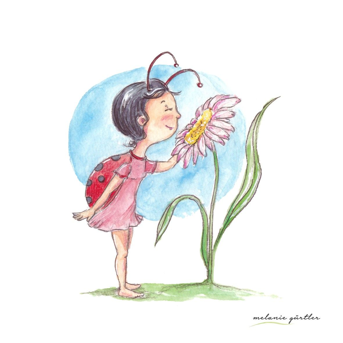 Illustration Kinderbuch Aquarell Watercolor Niedlich Natur