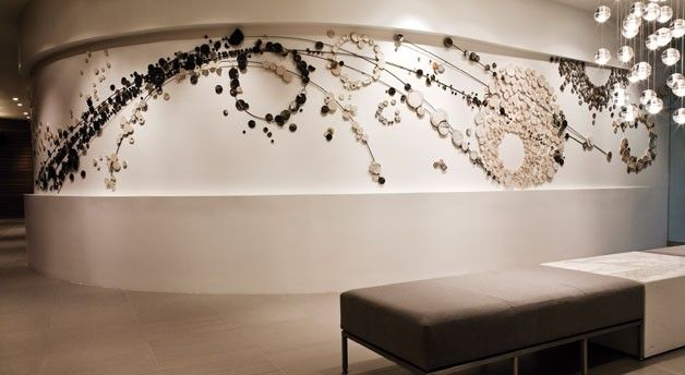 love this amazing wall treatment « exotic interiors | interior