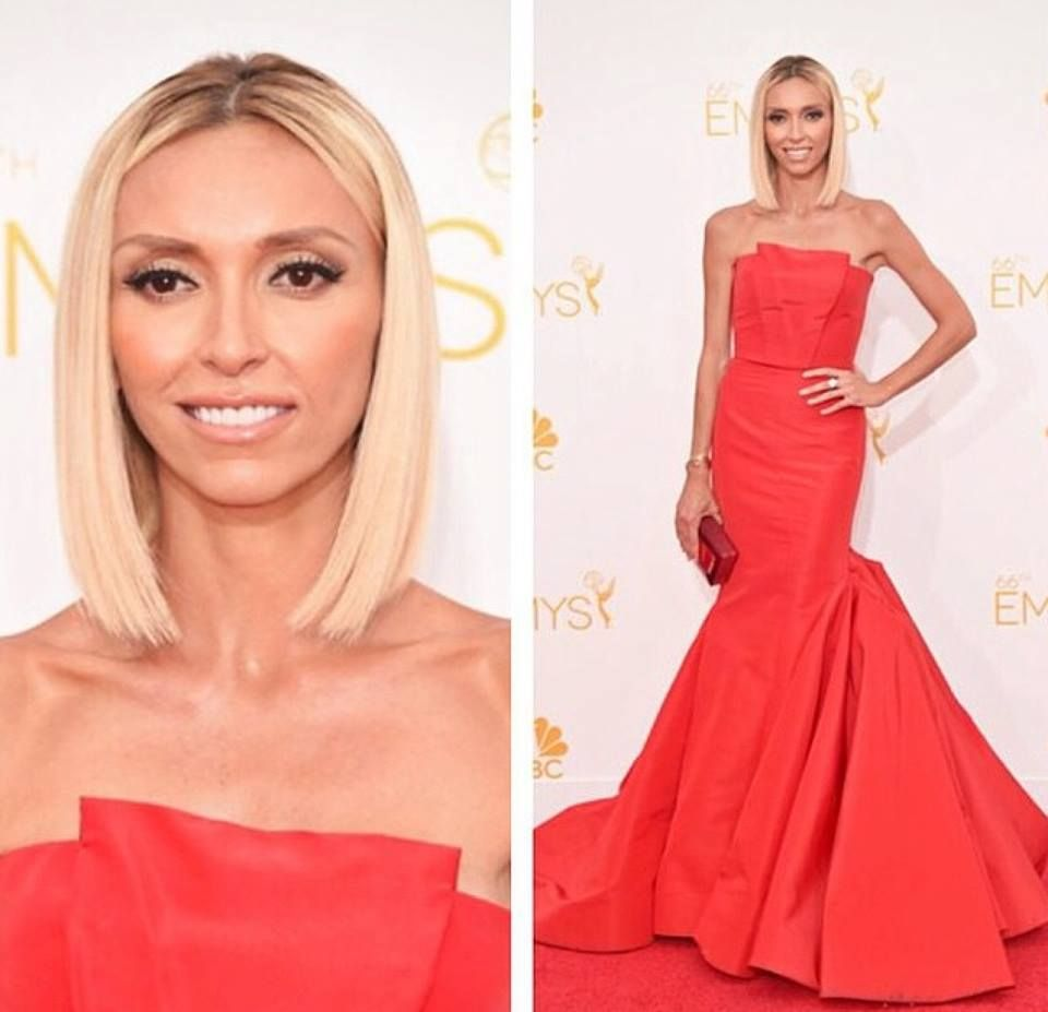 Giuliana rancic looked fabulous at the emmys with her hotheads giuliana rancic looked fabulous at the emmys with her hotheads extensions who says extensions are pmusecretfo Gallery
