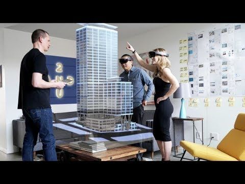 74998f4a336b The Modern Workplace with Hololens Mixed Reality - YouTube