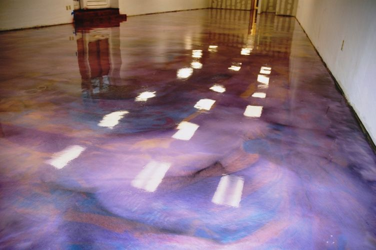 Concrete floor paint google search purple pinterest for Cement paint colors for floors
