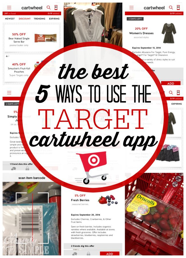 The Best 5 Ways To Use The Target Cartwheel App