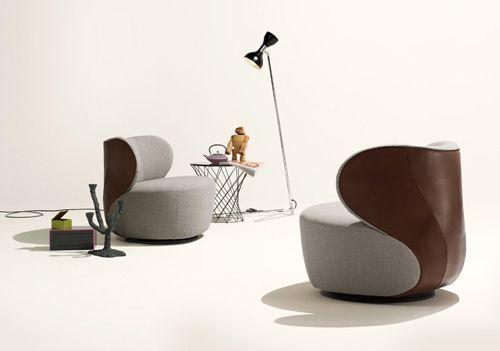 Elegant Armchair Bao By Walter Knoll