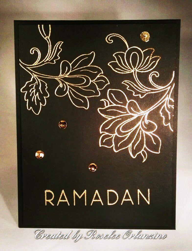 Persian Motifs Ramadan Greetings By Rorlanzino Cards Altenew