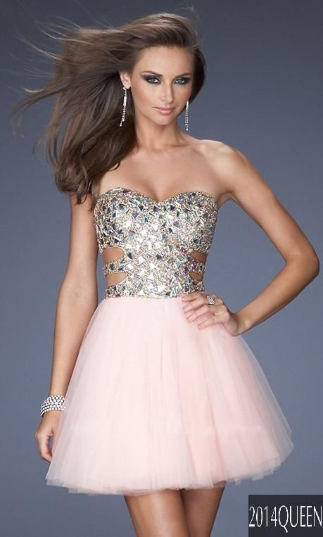 This is cute but too revealing for homecoming..... maybe a ...
