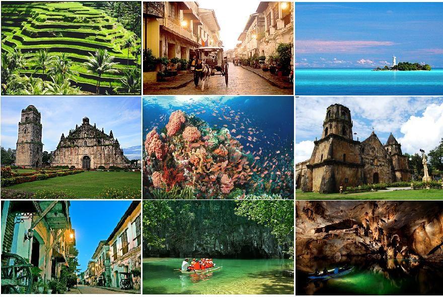 Travel The World Philippines Unesco World Heritage Sites World Heritage Sites Unesco World Heritage Site World Heritage