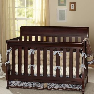 Graco Cribs Hartford Convertible Crib In Espresso Free Shipping