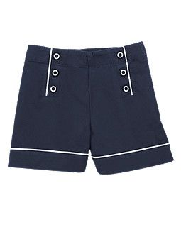 Sweet lil nautical sailor shorts for 12.99.... can't beat it! lil girl for 4th of summer outfits! AHH! Wish I had a lil girl!