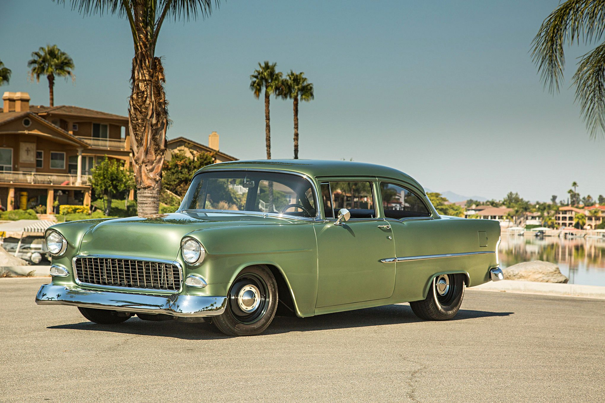 1955 Chevy 210 Sleeper With An Angry Small Block