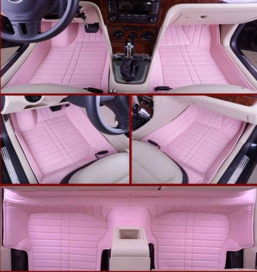 Pink Car Mats Would Prefer Gray Or Black Instead C A R