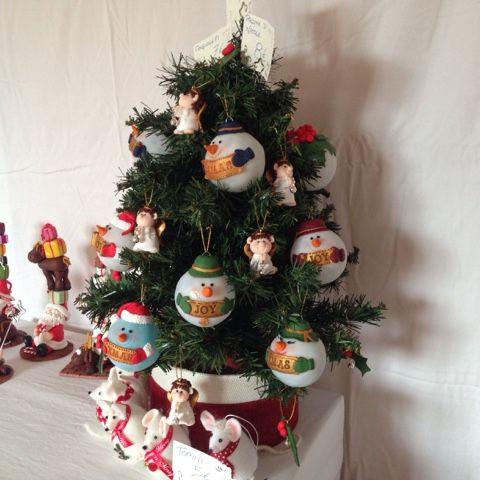 Ilfilodelleidee decorazioni natalizie fatte a mano in fimo per l 39 albero di natale fimo clay - Decorazioni natalizie fatte a mano per bambini ...