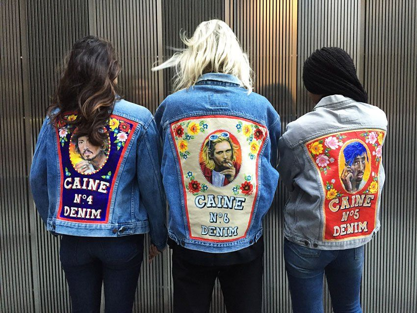 The Cool London Denim Jackets That Let You Wear Your Heart on Your ...