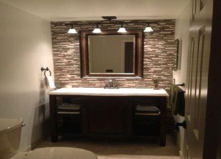 Bathroom Lighting Over Mirror Cottage 17 Ideas Bathroom In 2020