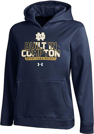 Under Armour University Of Notre Dame Hockey Youth Hooded Sweatshirt University Of Notre Dame Notre Dame University Hooded Sweatshirts Sweatshirts