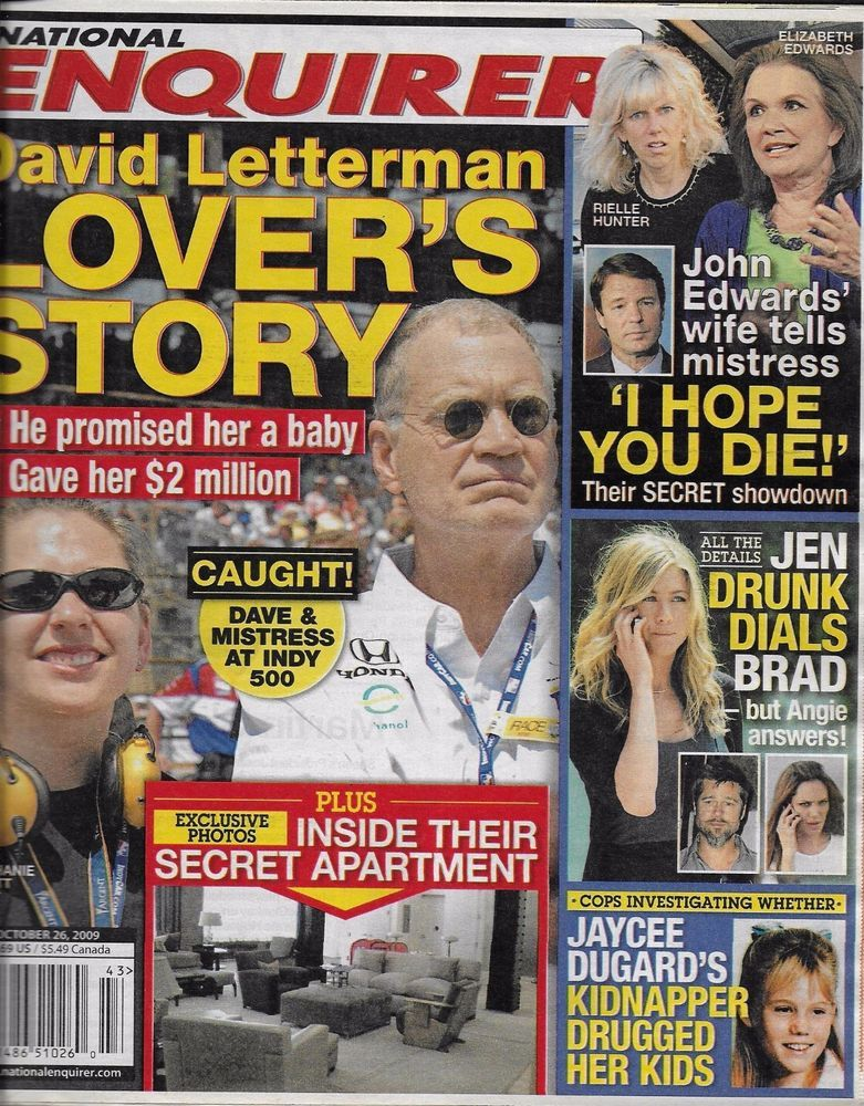 Jodie Stewart National Enquirer