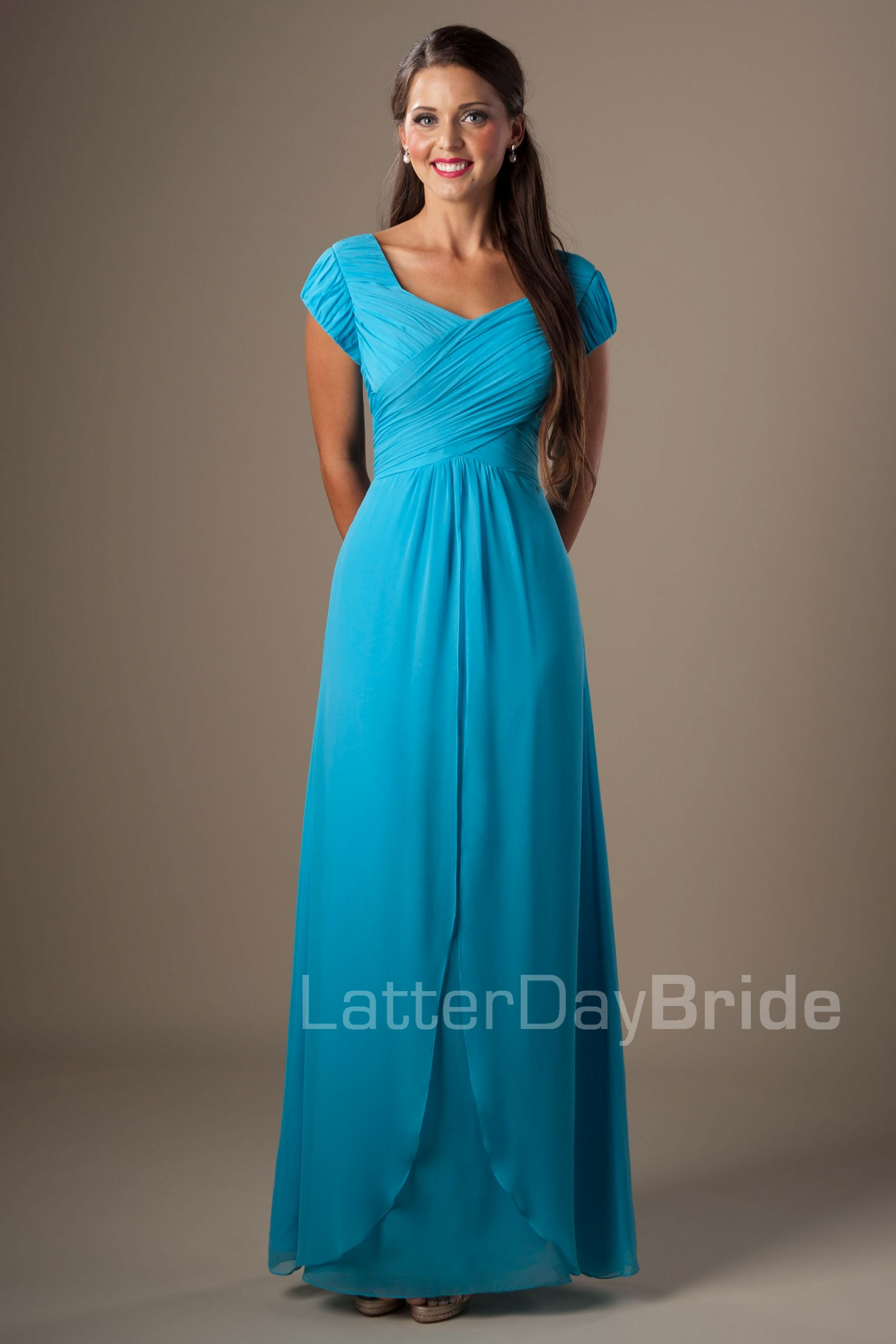 Harmony Modest bridesmaid dresses, Modest dresses