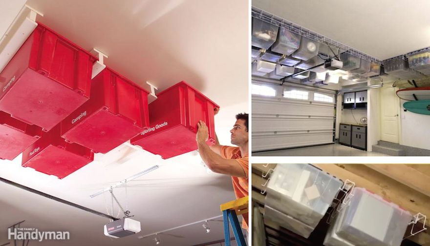 Designing for an organized garage part 1 using the ceiling core77