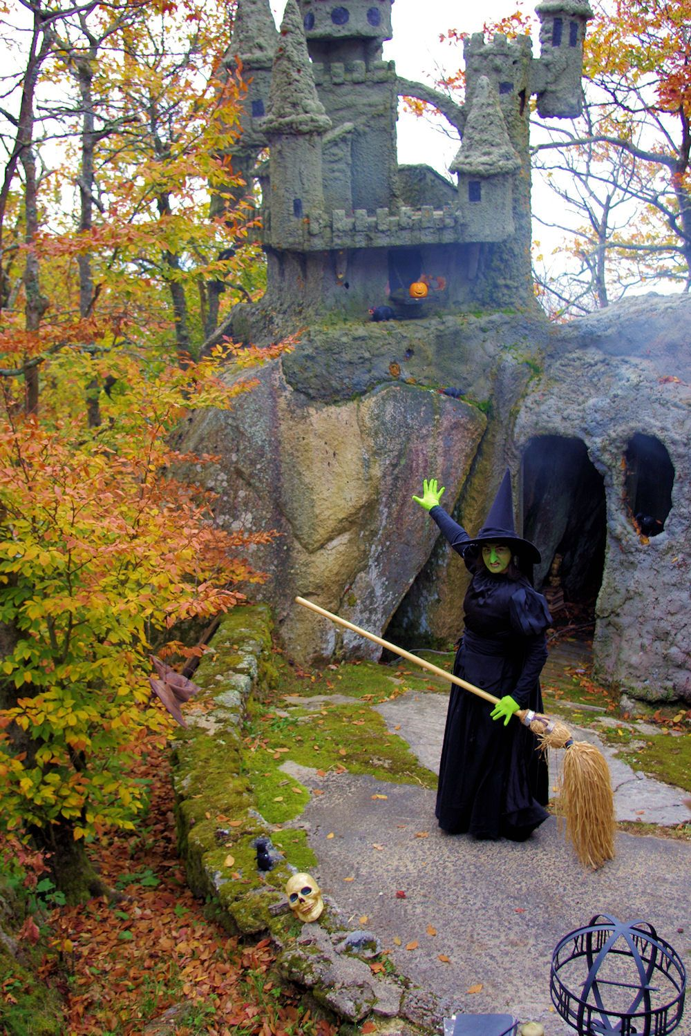 Autumn At Oz On Beech Mountain Nc Each October Wizard Of