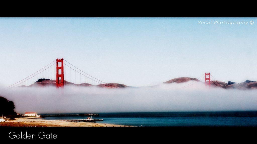 San Francisco, CA, Golden Gate Bridge.