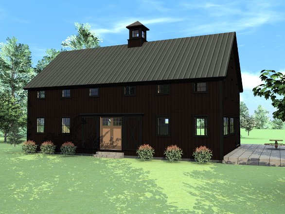 Newest Barn House Design And Floor Plans From Yankee Barn Homes Barn Style House Plans Barn House Design Barn House Plans