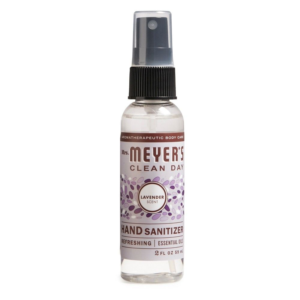 Mrs Meyer S Lavender Clean Day Hand Sanitizer 2 Fl Oz