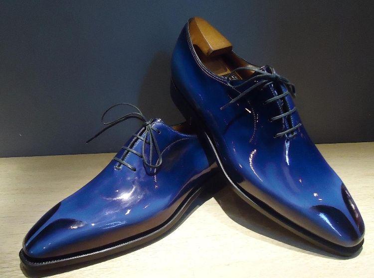 Mens Blue Bowling Shoes