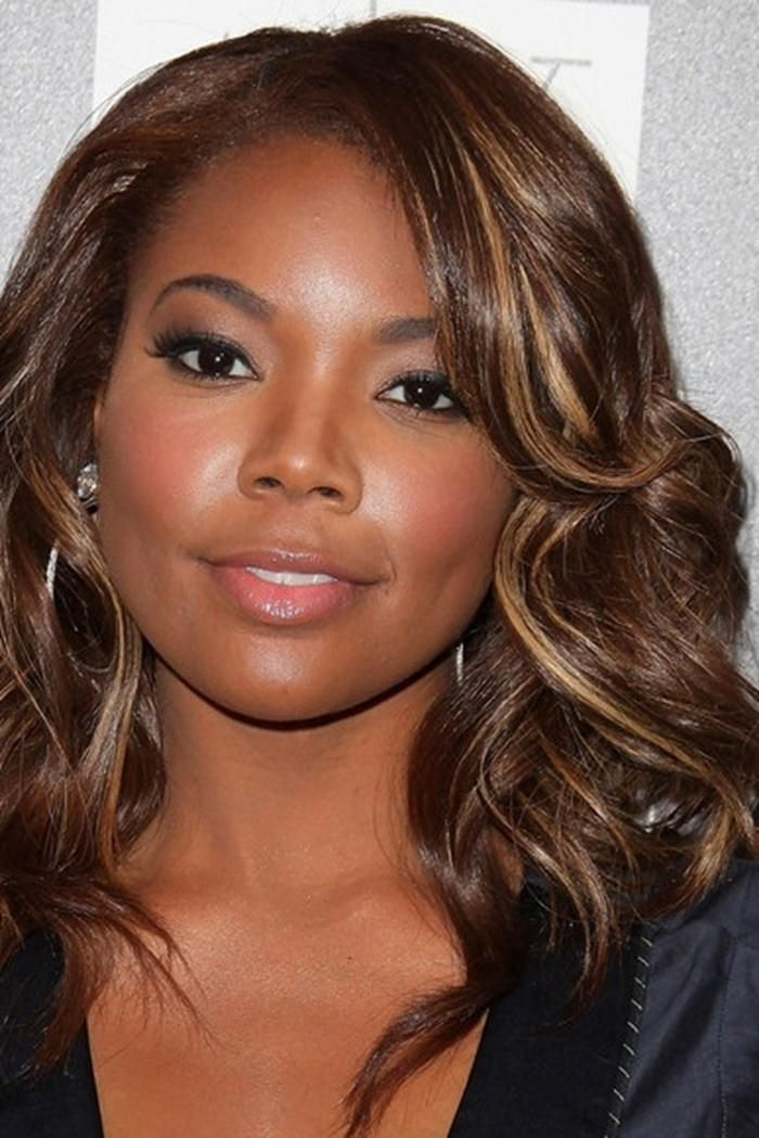 Light Brown Hair Color On Black Women  Flawless in 2019  Light brown hair, Hair color, Brown