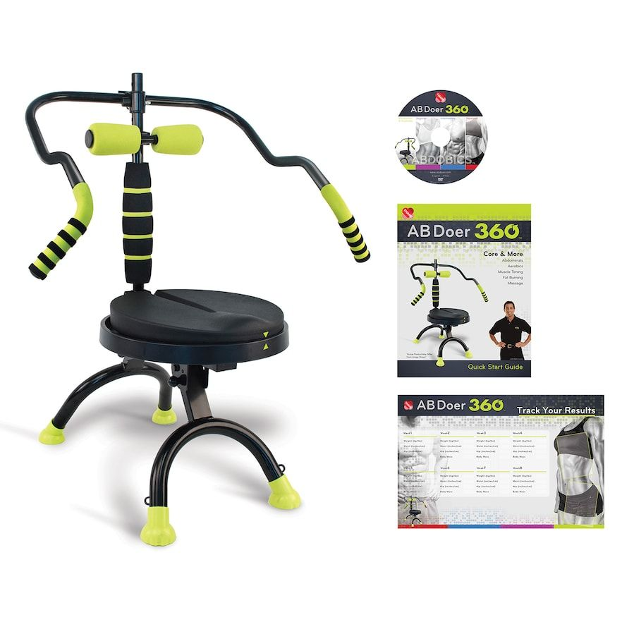 As Seen On Tv Ab Doer 360 Fitness System Black Products