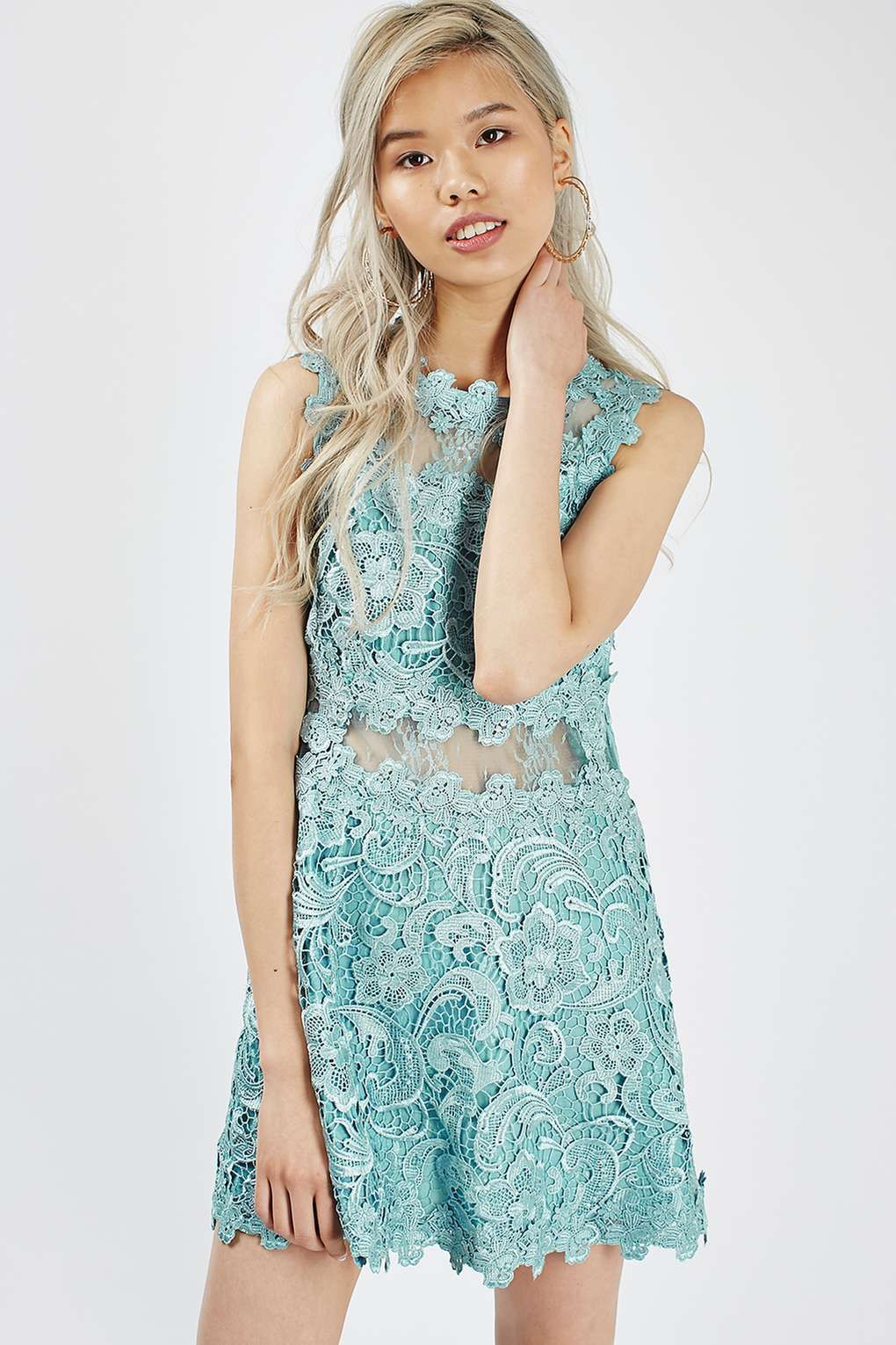 PETITE Lace Skater Dress - Dresses - Clothing | Petite and Topshop