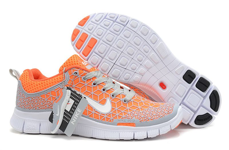 f10fb8deb941 Womens Nike Free 6.0 Soft Grey Total Orange White