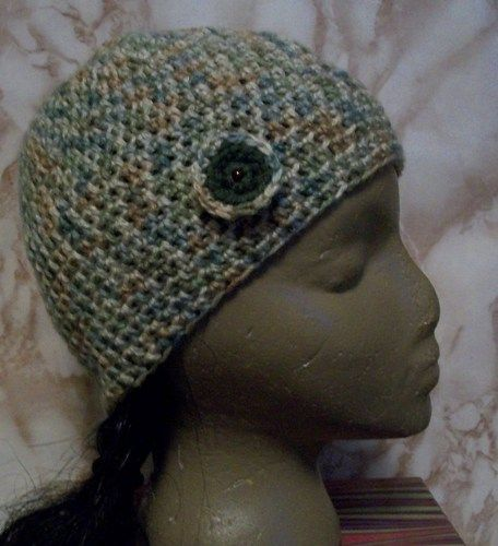 This is a handmade hat in my Stylin Snaps Collection, mix and match hats, headbands and attachments.  See how the collection works on my blog http://handmadebydroxy.com/introducing-my-stylin-snaps-col