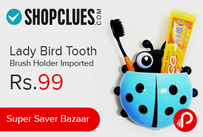 http://www.paisebachaoindia.com/lady-bird-tooth-brush-holder-imported-just-at-rs-99-shopclues/
