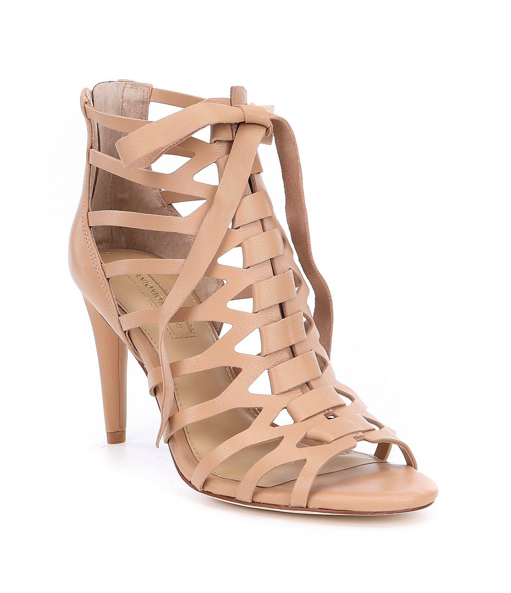 d4e00545ac1c9 Shop for Antonio Melani Merraline Lace-Up Dress Sandals at Dillards ...