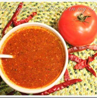 Taqueria Style Salsa Recipe #authenticmexicansalsa