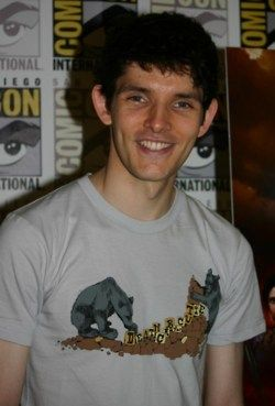 Look at your cute little face Colin morgan!!!!