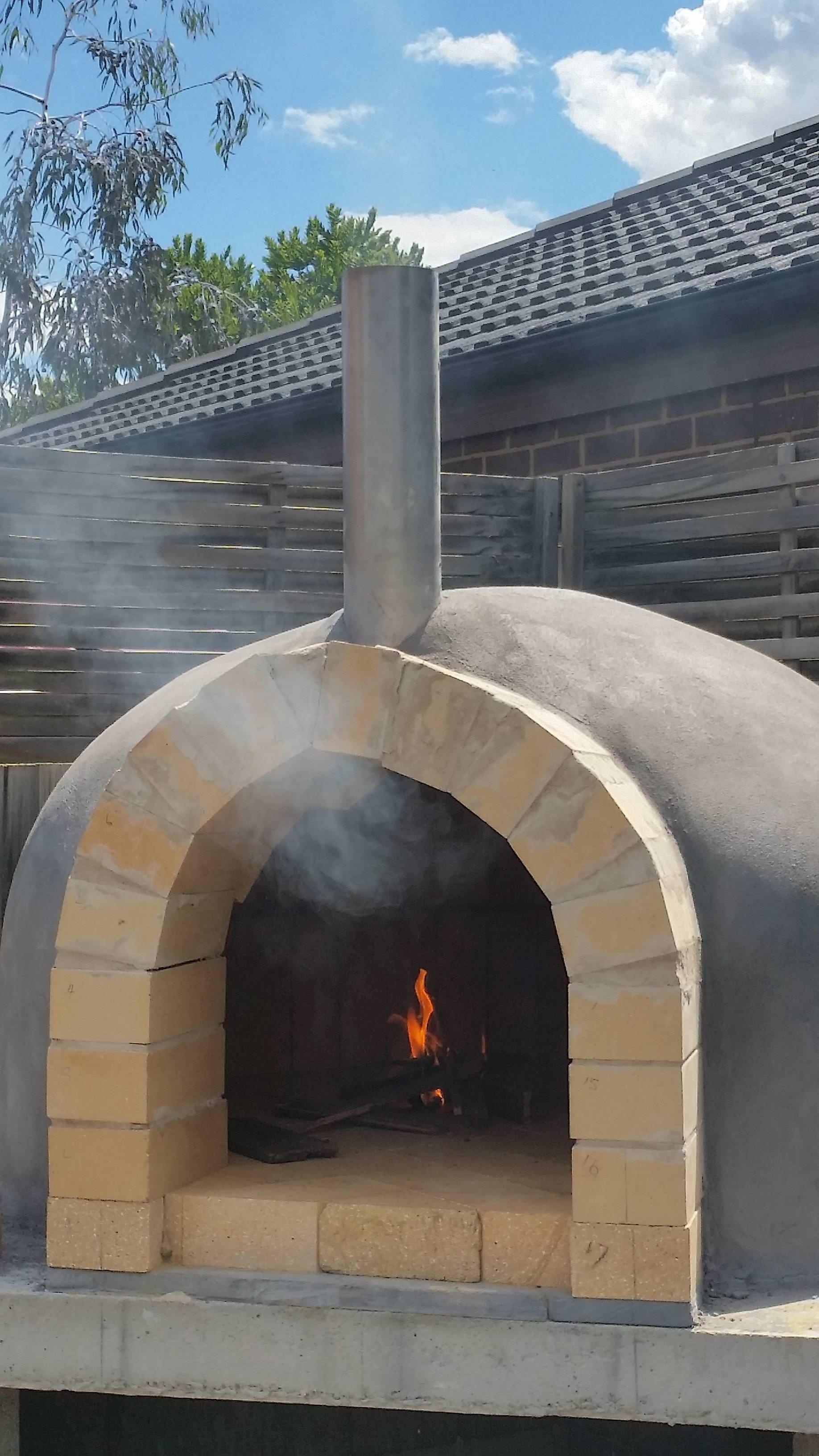 I built a Pizza Oven #handmade #crafts #HowTo #DIY | Pizza ...