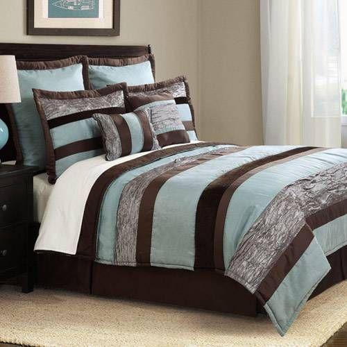 Aqua Chocolate Bedding By Bed Ink Main Bedroom Bedroom