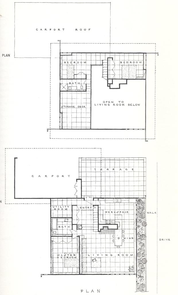 usonian housing project 1957 usonian vintage house