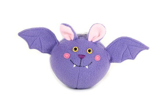 Round Purple Vampire Bat Plush Toy In 2018 Products Plush Toys